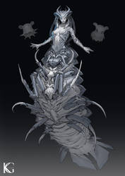 Isopod Girl