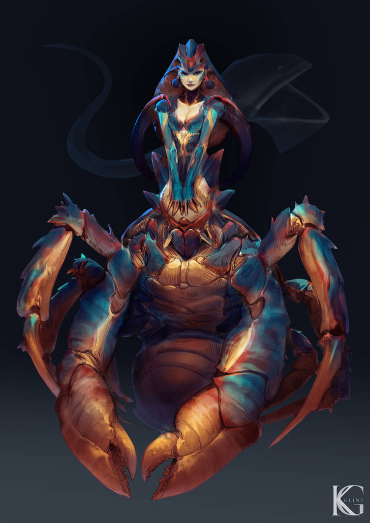 Coconut Crab Girl by Kevin-Glint