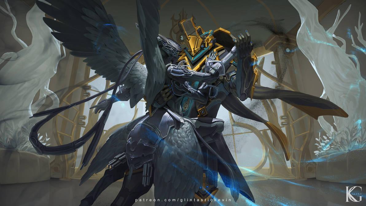 Warframe Trinity and Vauban Commission by Kevin-Glint
