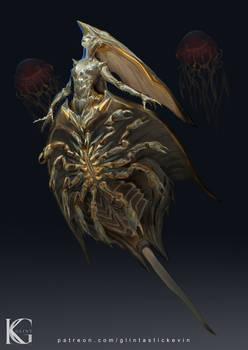 Horseshoe Crab Girl