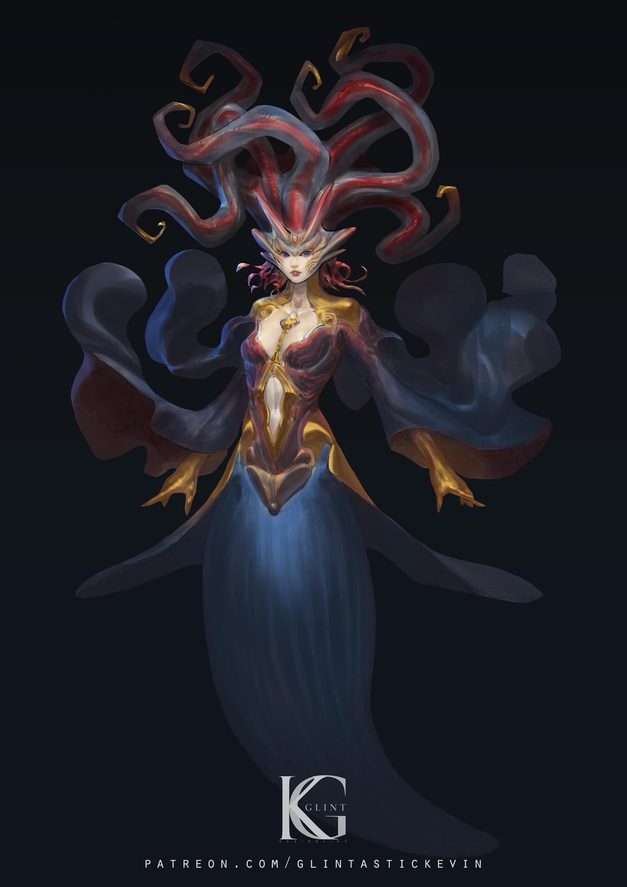 Sea angel girl version 2