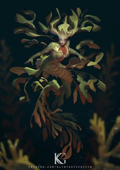 Leafy Seadragon Girl