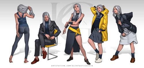 Lucy - Fashion exploration