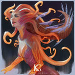 Squidworm Girl