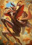 Devil's Flower Mantis Girl
