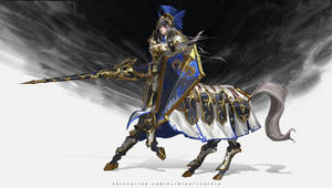 Centaur Mech Girl