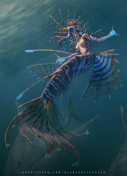 Blackfeet Lionfish GIrl