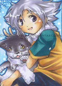 Little Wolf Legend by AtlanticaSora