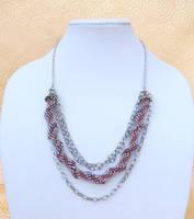 Spiral Crochet w Chain by TranquilityArtisans