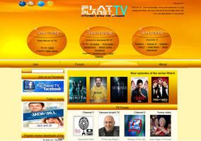 flatplanet.tv by keypxl