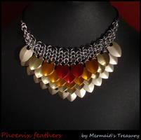 Phoenix feathers by MermaidsTreasury