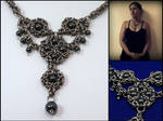 Nyx - Byzantine chainmaille necklace