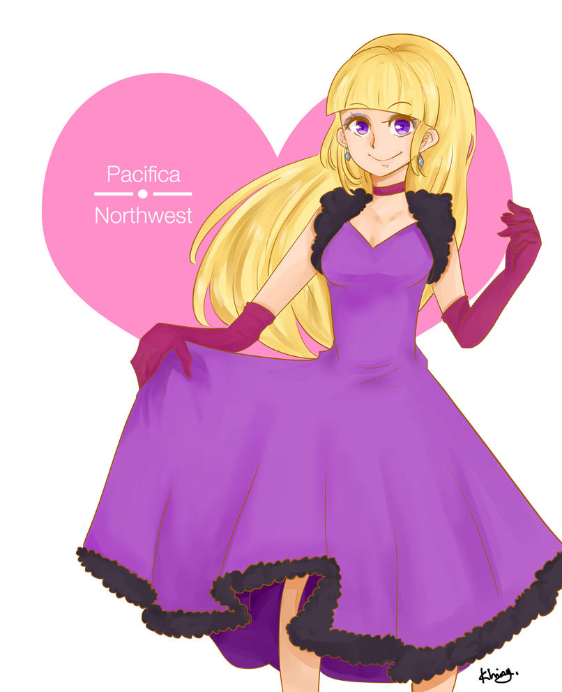 Pacifica From Gravity Falls