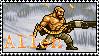 Metal Slug Allen Stamp by Nookslider