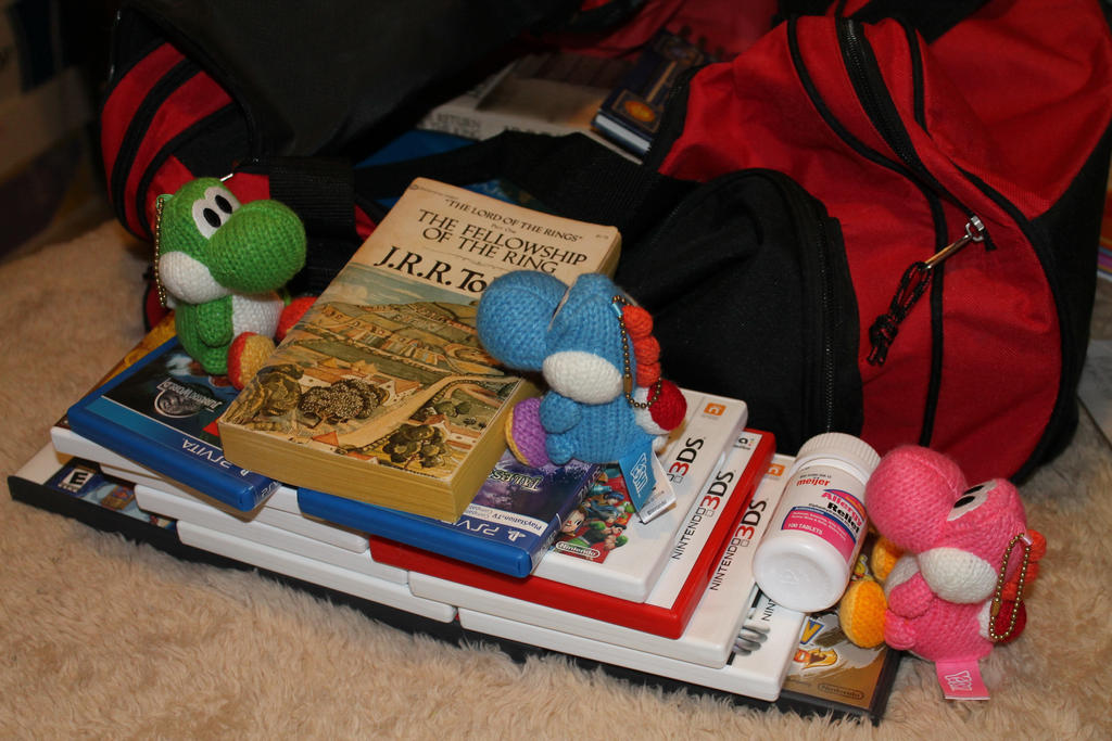 Yoshis Vacation: Packing time by Nookslider