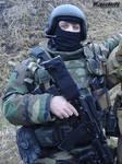 Russian spetsnaz with AK-74M 2