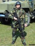 Russian spetsnaz with AK-74M 4