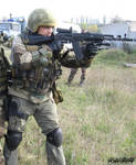Russian spetsnaz with AK-74M 5