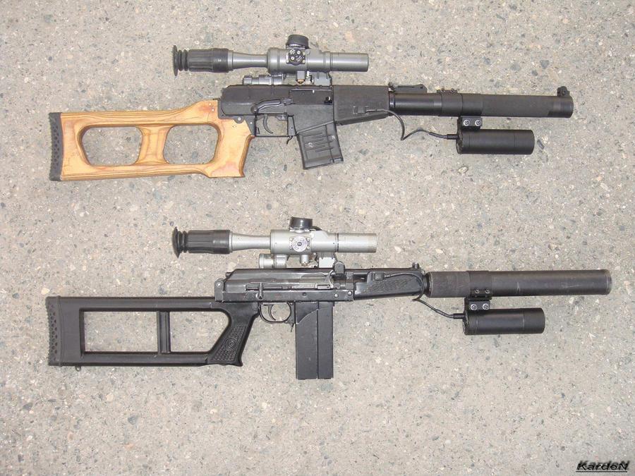 VSS_VSK-94 sniper rifles 2 by Garr1971