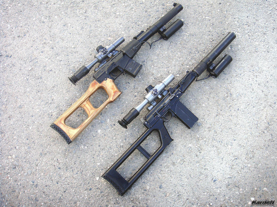 VSS_VSK-94 sniper rifles 3 by Garr1971