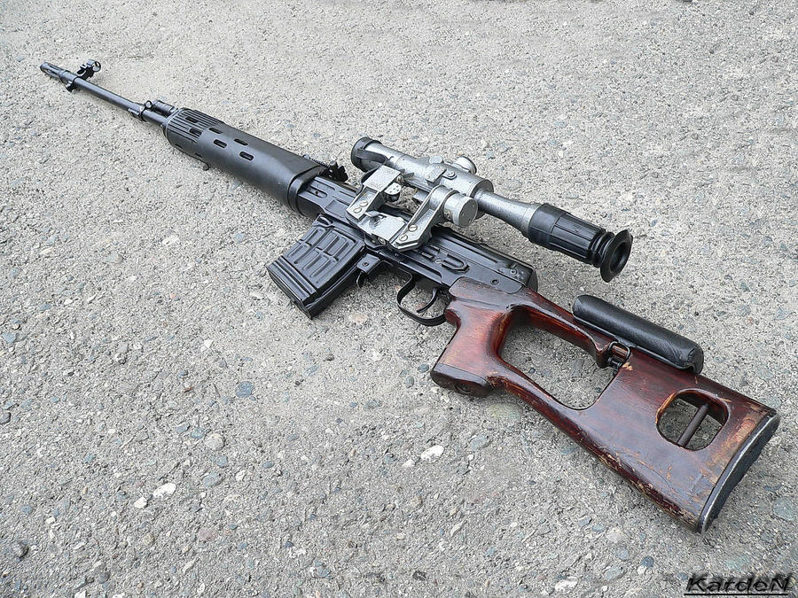 ... Dragunov svd sniper rifle 3 by Dragunov Sniper Rifle Wallpaper Hd
