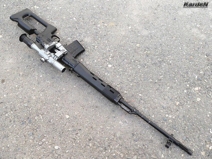 Dragunov SVD Sniper Rifle 7 By Garr1971