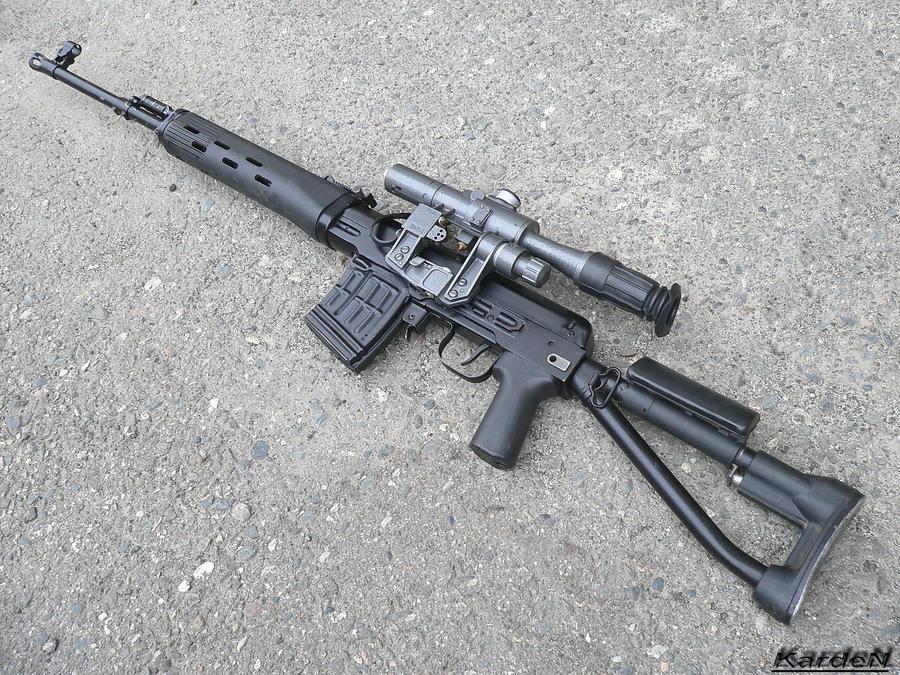 Dragunov SVDS_K sniper 2 by Garr1971 on DeviantArt