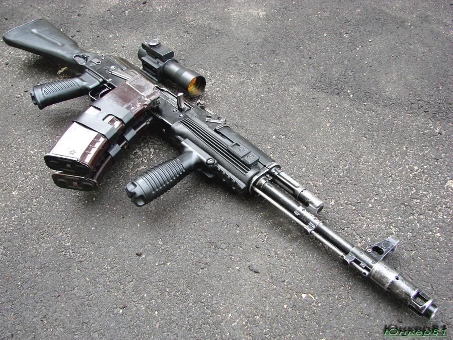 AK-74M assault rifle 4 by Garr1971