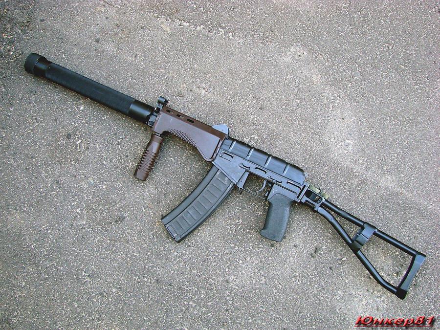 Russian Assault Rifles & Machine Guns Thread: #1 - Page 22 Sr_3m_vikhr_compact_3_by_garr1971-d37lkfr