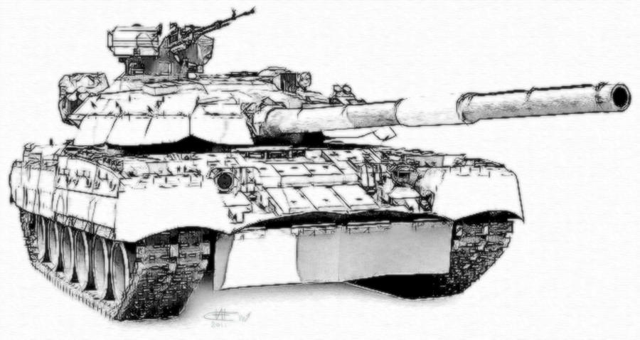 how to draw world war 2usa tanks