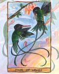 Four of Wands - Tarot Card