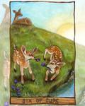 Six of Cups Tarot Card