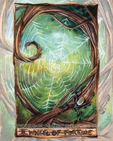 Wheel of Fortune Tarot Card by sobeyondthis
