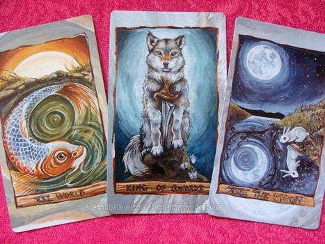 The Animism Tarot - Preview