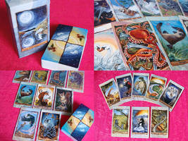 The Animism Tarot Deck by sobeyondthis