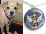 Custom Terrier Pendant Necklace