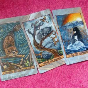 3 Card Reading  - The Animism Tarot