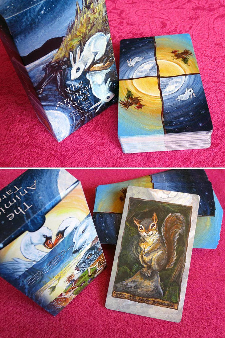 The Animism Tarot - New Box by sobeyondthis