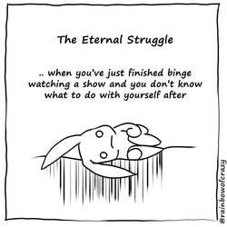 The Eternal Struggle by sobeyondthis