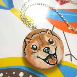 Shiba Necklace by sobeyondthis