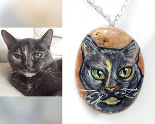 Divi - Cat Necklace by sobeyondthis