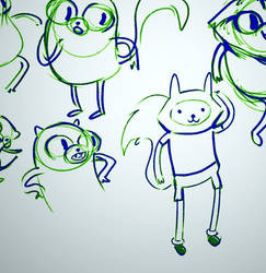 Adventure Time Doodles