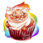 Day 17. Cupcake (Cat Doodle Challenge 2021)