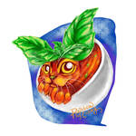 Day 23. Basil (Cat Doodle Challenge 2021)