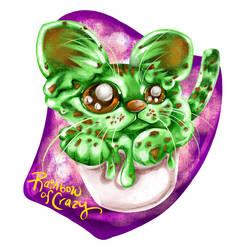Day 27. Ice Cream (Cat Doodle Challenge 2021)