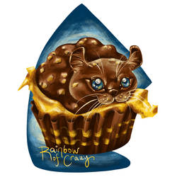 Day 30. Nutella (Cat Doodle Challenge 2021)