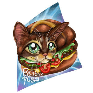 Day 31. Favourite Food (Cat Doodle Challenge 2021)
