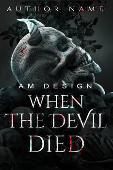 When The Devil Died (premade Cover for sale)