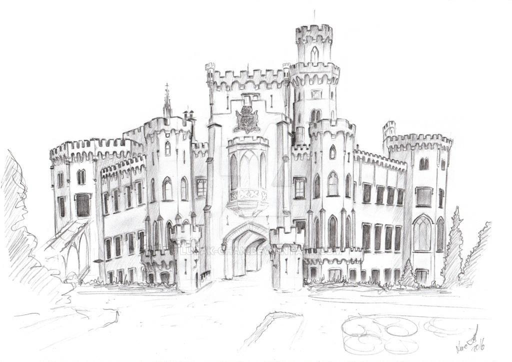 Hluboka Castle by Lucak-chan
