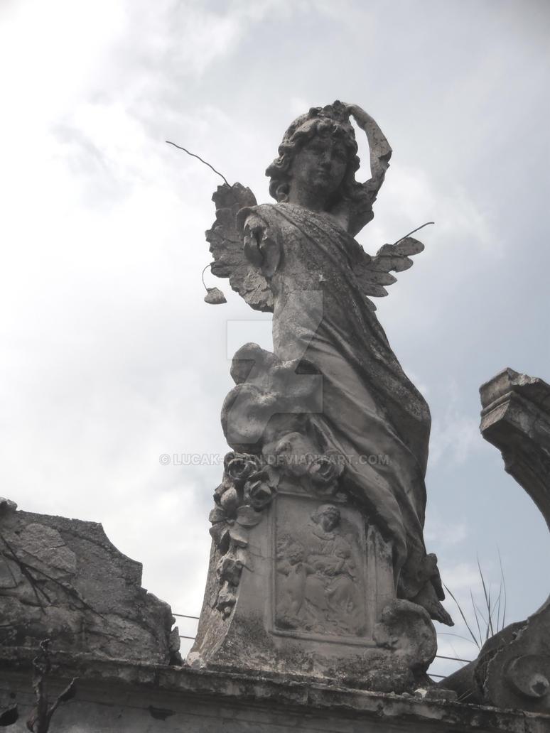 Angel From Graveyard by Lucak-chan